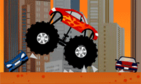Monster truck destructeur Course