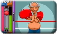 Grand'Pa Boxing Action