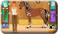 Horse Dress-Up Enfants