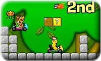 Super Mario Kart Flash Course